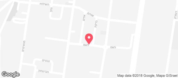 גלידוש - מפה