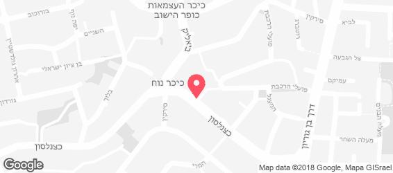 פיצה פאקל'ה - מפה