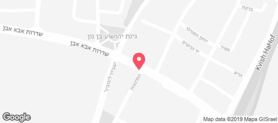 יוסף חלום של שווארמה - מפה