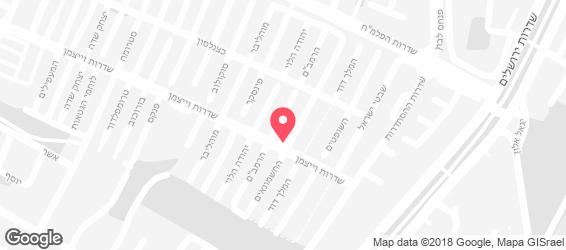 חומוס גלעד - מפה