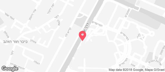 שגב קיטשן גארדן - מפה