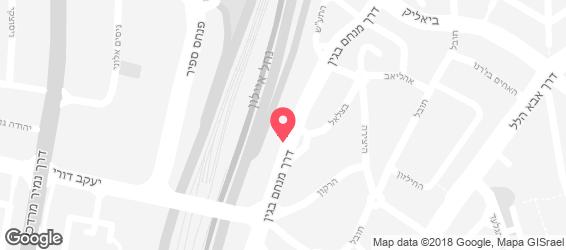 בבונג בר סלטים - מפה