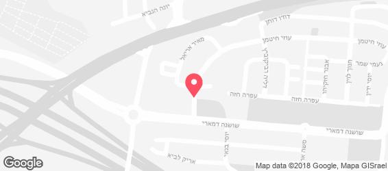 הום בורגר - מפה