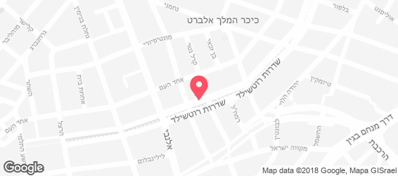 Jackie's bar pizza - מפה