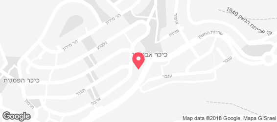 שווארמה שאול קניון הראל - מפה