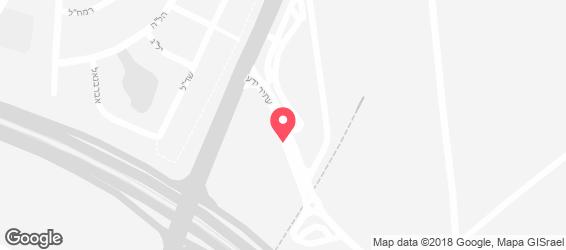 אושימרקט - מתחם מסעדות - מפה