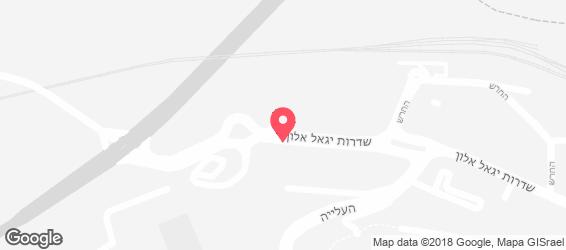 מסובין - מפה