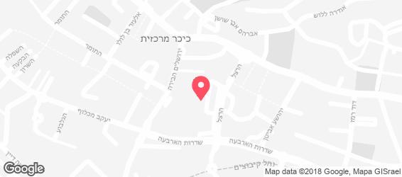 טאבון הלויים - מפה