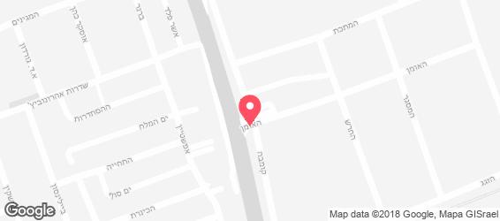 אבולעפיה אוכל רחוב ישראלי - מפה