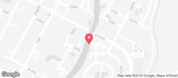 שווארמה אצל תומר - מפה