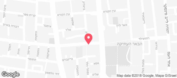 שווארמה רוטשילד - מפה