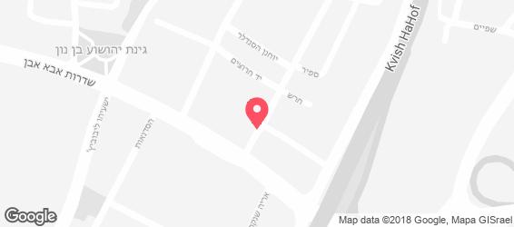 מסעדת רוזנברג - מפה