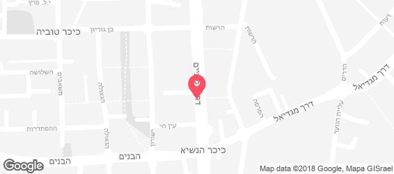 פאנקי סיסיליה - מפה