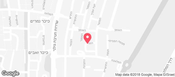 ג'אדי - פלאפל חומוס בר - מפה