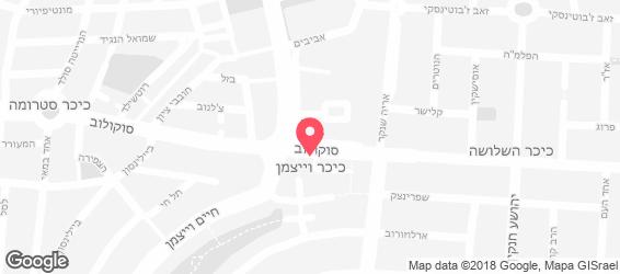 חומוס העתיקה - מפה