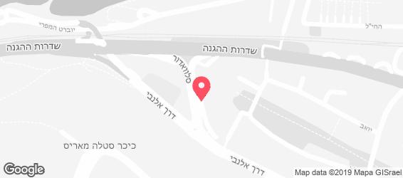 פיצה טומי חיפה - מפה