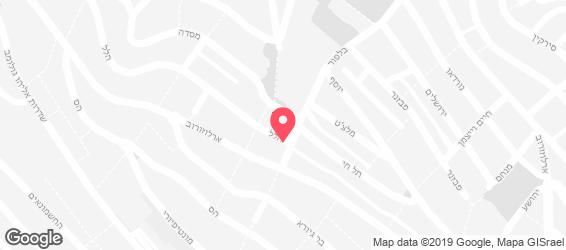 סנדוויץ הכיכר - מפה