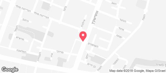 פיצה ברודווי - מפה
