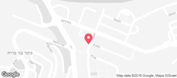 בית הפיצה - מפה