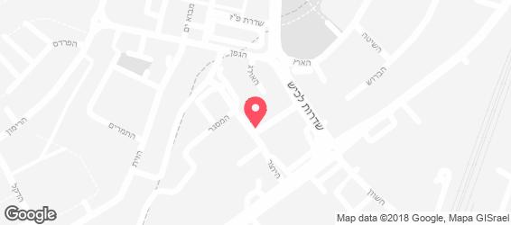 איציק שווארמה - מפה