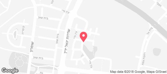פיצה השכונתית - מפה