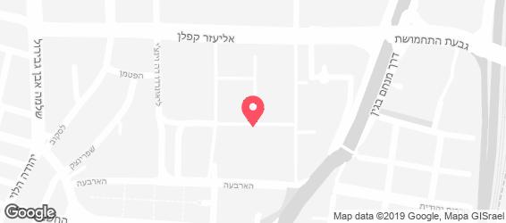 לה פרינה הטבעונית - מפה