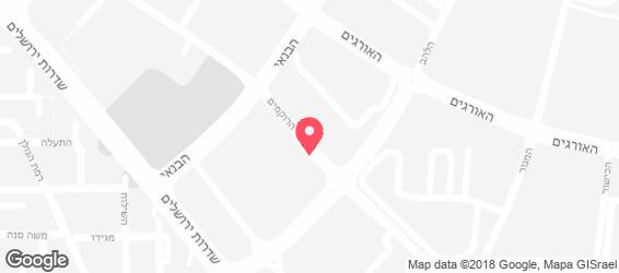 שיפודי ציפורה אקספרס - מפה