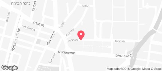 סלטים - מפה