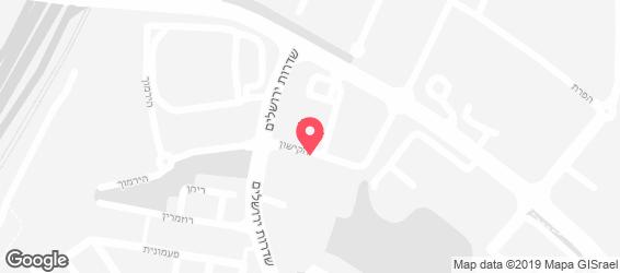 ג'וני קריספי - מפה