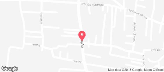 מסעדת אלביק - מפה
