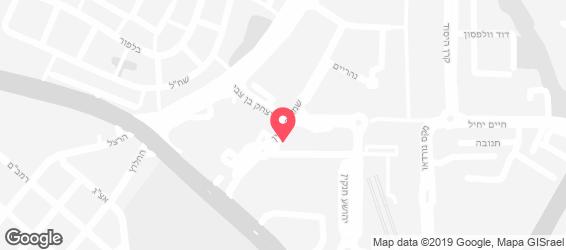 הקפיטריה - מפה
