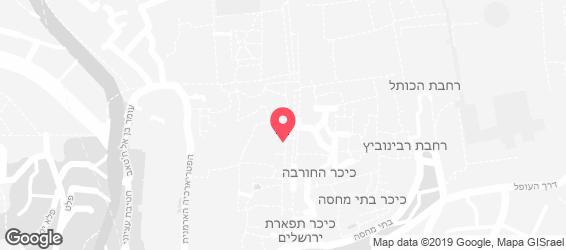 סיאול האוס - מפה