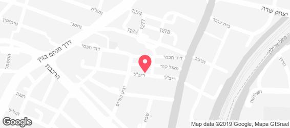 מק צ'יקן בורגר - מפה