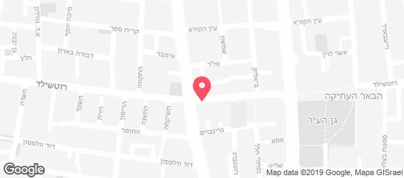 פיצה דון רוטשילד - מפה