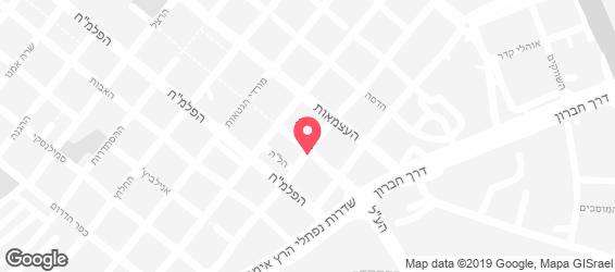 הירושלמית - מפה