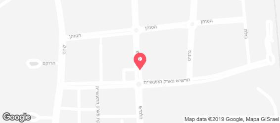 ביגה פסטה בר - מפה