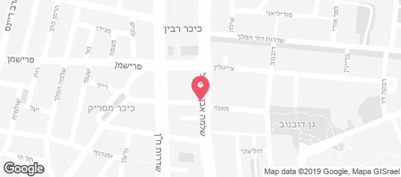 סלט ישראלי - מפה