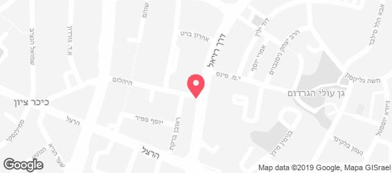 המטבח של יוסף - מפה