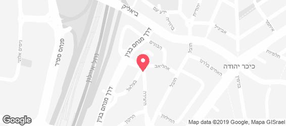 חומוס חומוס - מפה