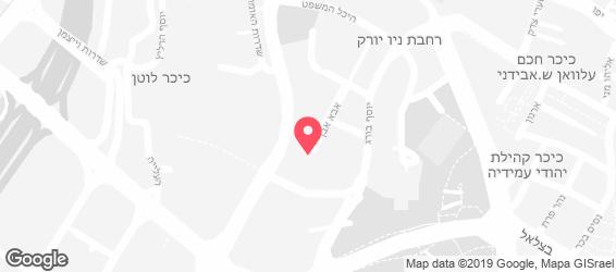 גרדן גורמה - מפה