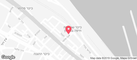 צ'יוויטו חיפה - מפה