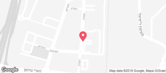 קוליסאום דלוקס - מפה