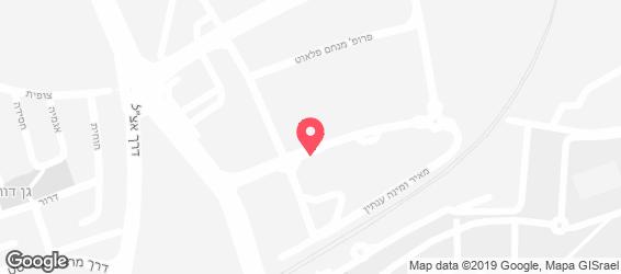 ג'מס ביר פקטורי - מפה
