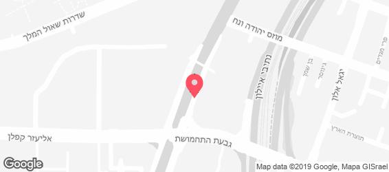 ספורה בר תל אביב - מפה