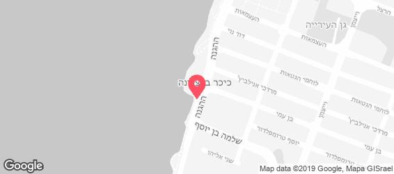 חומוס אל עבד אבו חמיד - מפה