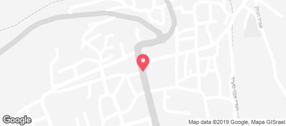 המטבח הדרוזי בגולן - מפה