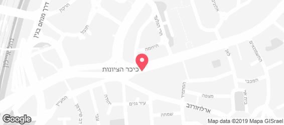 פיתה רחוב - מפה