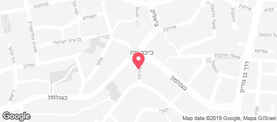 רובי'ס טוסט - מפה