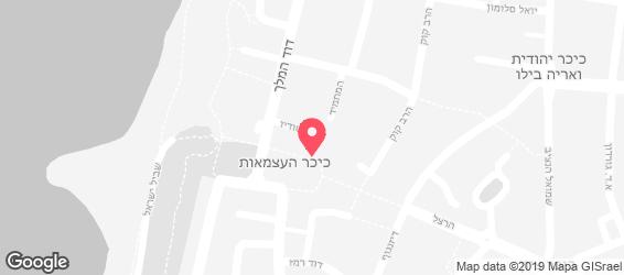 האוס בורגר כשר - מפה