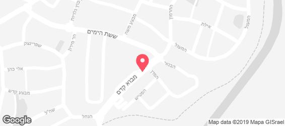 שיפודי הטאבון - מפה